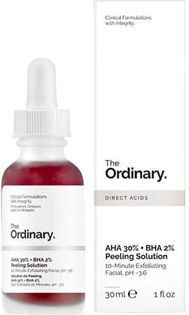 Exfoliant chimique the ordinary