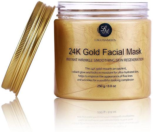 Masque en or pour les points noirs du visage