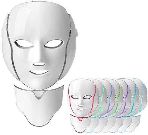 masque led 7 couleurs