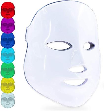 masque led luminotherapie