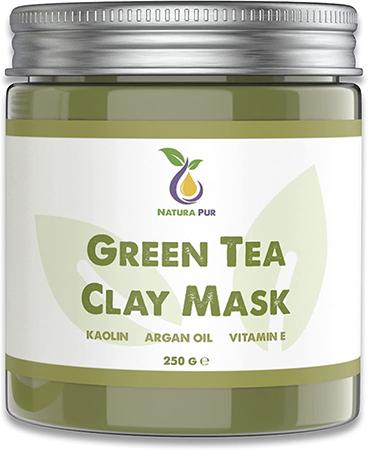 masque au thé vert pour les points noirs