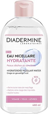 eau micellaire hydratante diadermine