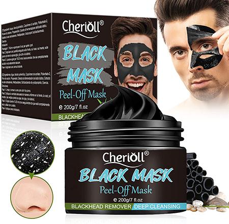 masque visage homme points noirs