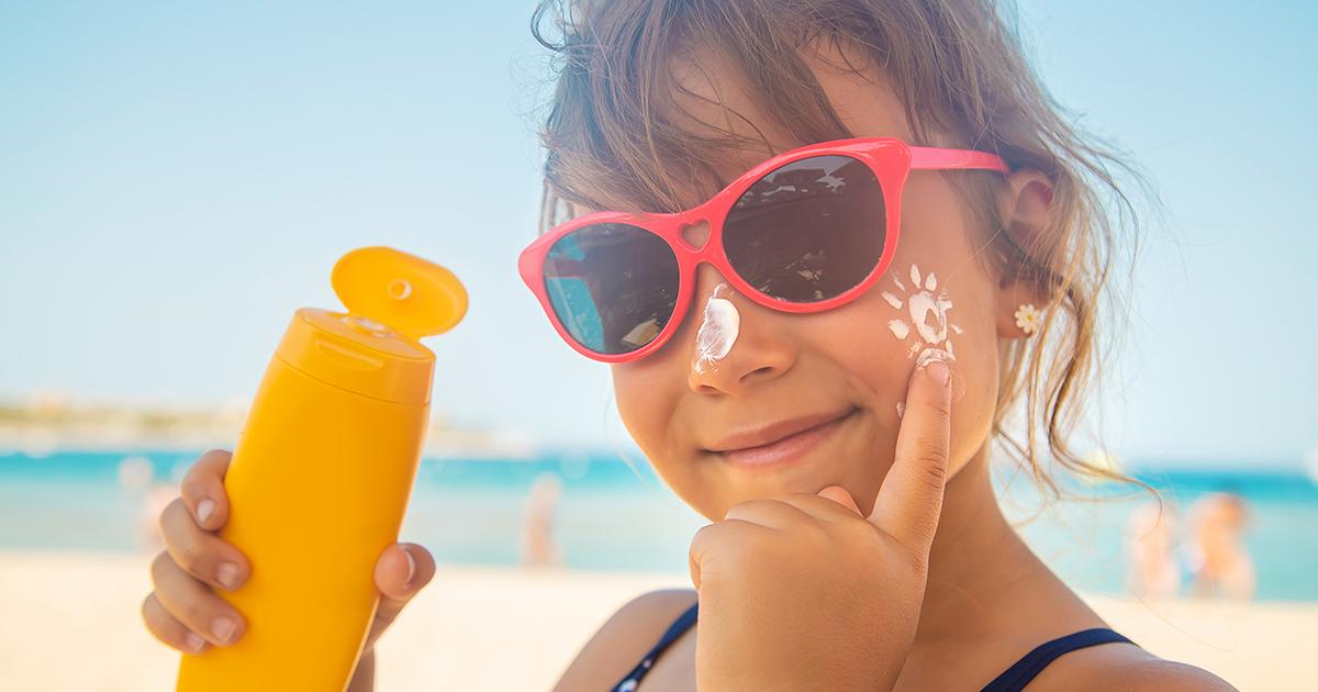 Crème solaire pour bébé